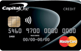 Capital One Classic Platinum MasterCard