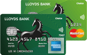 Lloyds Bank Choice Rewards Amex/MasterCard